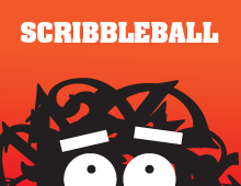 Scribbleball: The Crazy ABC Book